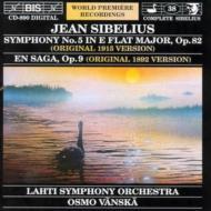 交響曲第5番(1915年オリジナル版:全4楽章)、他 ヴァンスカ&ラハティ響