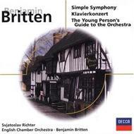 シンプル・シンフォニー、ピアノ協奏曲、ほか ブリテン&イギリス室内管、リヒテル
