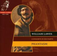 ウィリアム・ローズ:6声のヴィオラ・ダ・ガンバのためのコンソート ファンタズム