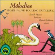 Songs: Mason(Br)spielman(P)ravel, Dutilleux, Faure, Poulenc