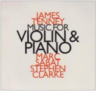 Music For Violin & Piano: Marc Sabat(Vn)Stephen Clarke(P)
