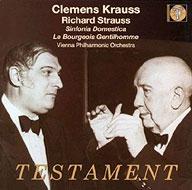 家庭交響曲、組曲『町人貴族』 クレメンス・クラウス&ウィーン・フィル