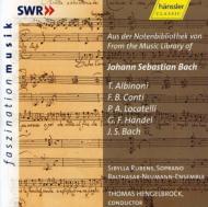 Hengelbrock / Balthasar Neumann.ens J.s.bach, Albinoni, Handel, Etc
