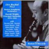 Harold Wright Recital Vol.3 Mozart K.498, Etc