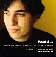 Piano Concerto.1: Fazil Say(P)Temirkanov / St.petersburg Po+liszt