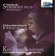 チャイコフスキー:交響曲第6番「悲愴」、小林研一郎:パッサカリア 小林研一郎&チェコ・フィル