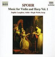 シュポア(1784-1859)/Works For Violin & Harp Vol.1: Langdon(Vn)webb(Hp)dorey(Vc)