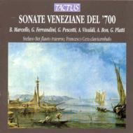 18世紀ヴェネツィアのフルート・ソナタ集 ベート(fl-tr)/チェーラ(cemb)