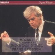 ブリュッヘン/モ−ツァルト:交響曲40番 フランス・ブリュッヘン