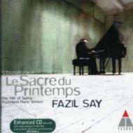 (4 Hands Piano)le Sacre Du Printemps: Fazil Say(P)