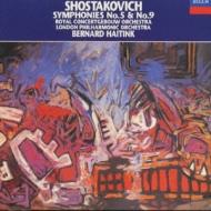 ショスタコーヴィチ:交響曲第5番、第9番 ベルナルト・ハイティンク
