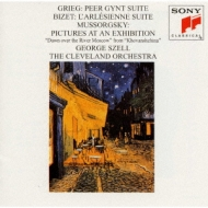 Pictures At An Exhibition / Peergynt / L'arlesienne Suite: Szell / Cleveland