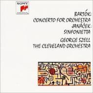 バルトーク:管弦楽のための協奏曲、ヤナーチェク:シンフォニエッタ セル&クリーヴランド管