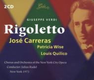 Rigoletto: Carreras, Rudel / N.y City Opera