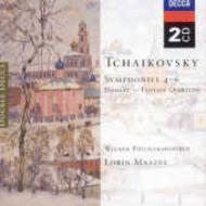 交響曲第4、5、6番、幻想序曲『ハムレット』 マゼール&ウィーン・フィル(2CD)
