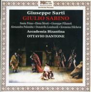 Giulio Sabino: Dantone(Cond) : サルティ、ジュゼッペ(1729-1802 ...