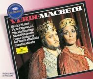歌劇『マクベス』全曲 カプッチッリ、ヴァ−レット、ギャウロフ、ドミンゴ、他 アバド&ミラノ・スカラ座