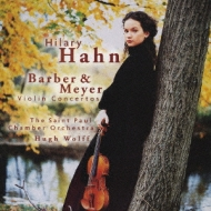 Violin Concerto: Hilary Hahn(Vn)H.wolff / St.paul.co