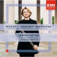 Clarinet Concerto: S.meyer(Cl)Abbado / Bpo +debussy, 武満徹