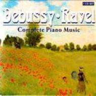 ドビュッシー:ピアノ曲全集 F.-トンプソン、ラヴェル:ピアノ曲集:クロスリー(7CD)