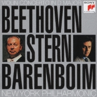Violin Concerto: Stern, Barenboim / Nyp +romance