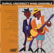 Tuba Concerto: Cooley(Tu)Deroche / Depaul U Wind Ensemble +r.strauss