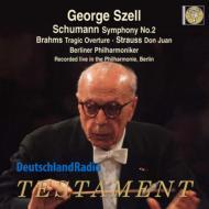 シューマン:交響曲第2番、R.シュトラウス:ドン・ファン、ブラームス:悲劇的序曲 ジョージ・セル&ベルリン・フィル(1969年ステレオ)