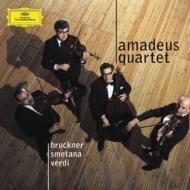 アマデウス弦楽四重奏団 ブルックナー:弦楽五重奏曲、ドヴォルザーク:『アメリカ』、ヴェルディ、スメタナ、他(2CD)
