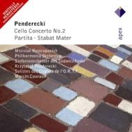 Cello Concerto.2: Rostropovich(Vc)Etc +stabat Mater, Partita