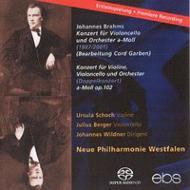 二重協奏曲、二重協奏曲(チェロ協奏曲編曲版) ベルガー、ヴィルトナー&ヴェストファーレン新フィルハーモニー