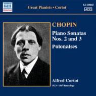 ピアノ・ソナタ第2番、第3番、他 コルトー(p)