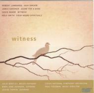 Witness-voice & Orch: Freeman / Czech National So M.j.johnson(S)Bentley(Ms