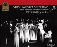 歌劇『運命の力』全曲 ミトロプーロス&ウィーン国立歌劇場、ステッラ、ディ・ステーファノ、バスティアニーニ、他(2CD)