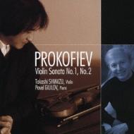 Violin Sonata.1, 2: 清水高師(Vn)Gililov(P)