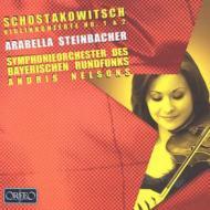 ヴァイオリン協奏曲第1番、第2番 シュタインバッハー、ネルソンス&バイエルン放送響