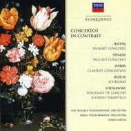 Concertos In Contrast-haydn, Vivaldi, Wieniawski, Bloch, Etc: V / A