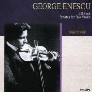 J.S.バッハ:無伴奏ヴァイオリン・ソナタ(全3曲) ジョルジュ・エネスコ