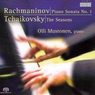 ラフマニノフ:ピアノ・ソナタ第1番、チャイコフスキー:四季 ムストネン(p)