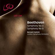 交響曲第4、8番 ハイティンク&ロンドン響