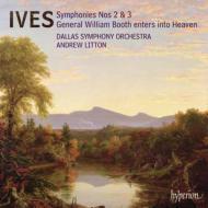 交響曲第2番、第3番、ブース将軍天国へ行く リットン&ダラス交響楽団