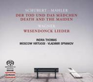 『死と乙女』弦楽合奏版、他 スピヴァコフ&モスクワ・ヴィルトゥオージ