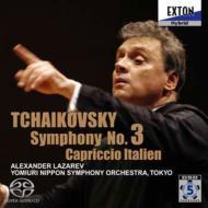 チャイコフスキー:交響曲第3番『ポーランド』、イタリア奇想曲 ラザレフ&読売日本交響楽団