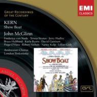 カーン、ジェローム(1885-1945)/Show Boat: Mcglinn / London Sinfonietta Von Stade Hadley Stratas