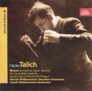 交響曲第33、38番、他 ターリヒ