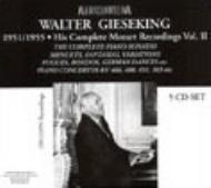 ピアノ作品集(第2巻) ギーゼキング(p)(5CD)