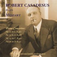 ピアノ協奏曲集第21・23・24・26番 カサドシュ、マタチッチ、マルティノン、モントゥー、ジンマン(2CD)