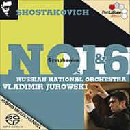 交響曲第1番、第6番 ヴラディーミル・ユロフスキー&ロシア・ナショナル管弦楽団