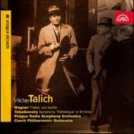 交響曲第6番『悲愴』、ワーグナー:『トリスタンとイゾルデ』第1幕への前奏曲 ターリヒ&チェコ・フィル、プラハ放送響