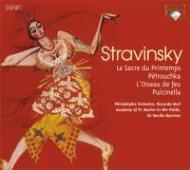 『春の祭典』『ペトルーシュカ』『火の鳥』組曲 ムーティ、他(2CD)