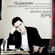 Recorder Suite, Water Music: Steger(Rec)Akademie Fur Alte Musik, Berlin